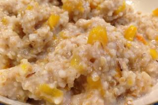 Cereales Integrales con Calabaza (para niños pequeños)