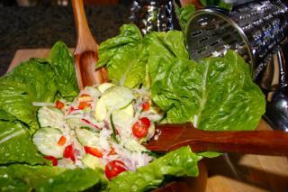 Receta de Saladmaster - Ensalada de Verduras de Verano con Vinagreta de Limón