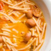Receta Saladmaster Pasta e Fagioli
