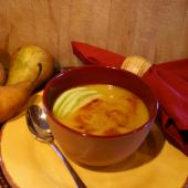 Saladmaster: Bisque de Calabaza al Curry y Pera
