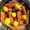 Salmon & Verduras