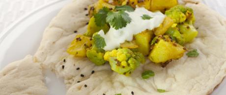 Curry de Patata y Coliflor (Aloo Gobi)
