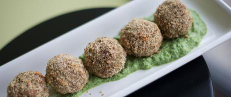 Saladmaster 316 Ti Cookware Recipe - Spinach Almond Patties by Marni Wasserman