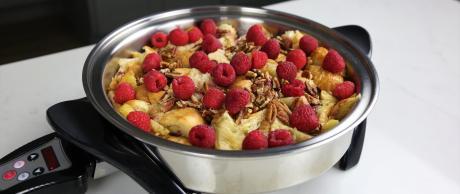 French Toast, berries, breakfast, dessert,