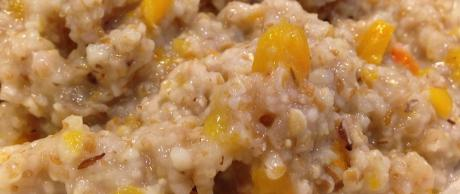 Saladmaster Recipe Whole Grain Cereal with Squash