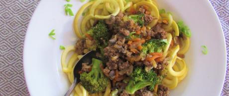 ground beef, vegetables, BBQ, Korean