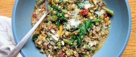 lentil, quinoa, vegetable, stew,
