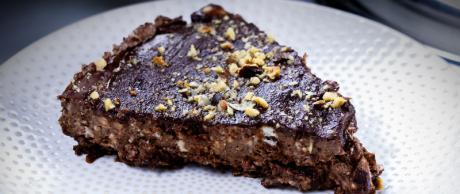 chocolate, cheesecake, hazelnuts, dessert, low carb, sugar free