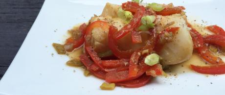 Fish recipe, easy fish dishes, ginger lime fish