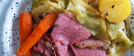 Carne Encurtida con Verduras