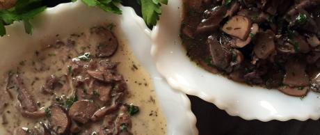 Saladmaster Recipe Red Wine Mushroom Sauce  (2 Ways)