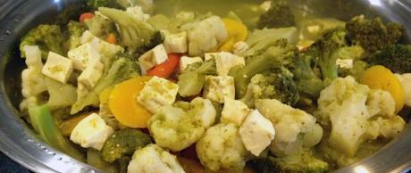 Tofu y Verduras