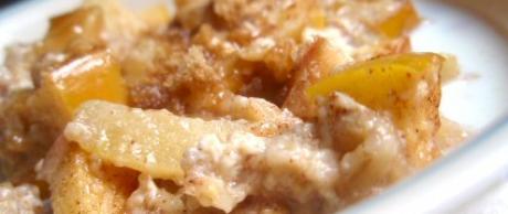 Receta de Saladmaster - Avena con Manzana y Canela