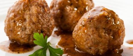 Receta Saladmaster Albóndigas de Cerdo y Jengibre