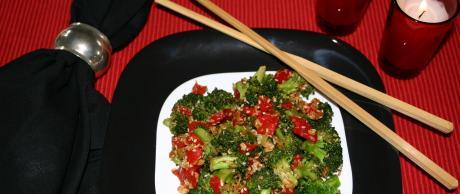 Saladmaster: Brócoli Picante con Sésamo y Soja