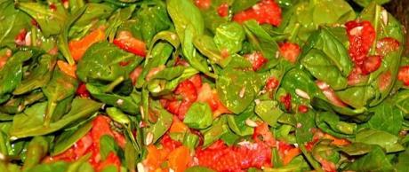 Ensalada de Espinacas con Cítricos