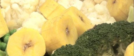 Hortalizas y Plátanos Verdes